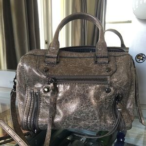 Botkier Women's Metallic grey Logan Satchel